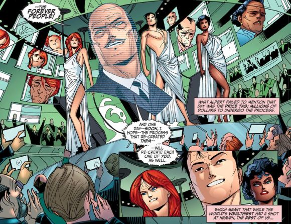 Justice League-Gods & Monsters No. 1-Forever People!
