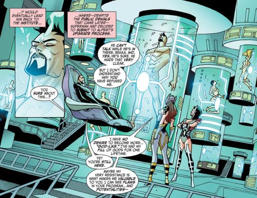 Justice League-Gods & Monsters No. 1-The Process Is Underway!