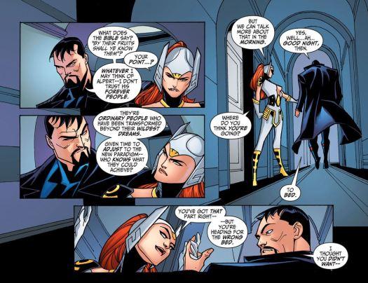 Justice League-Gods & Monsters No. 1-Trust & Hanky-Panky!