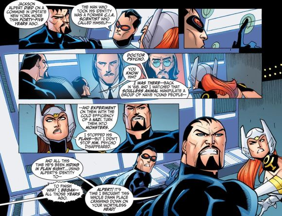 Justice League-Gods & Monsters No. 2-Alpert Isn't Himself!