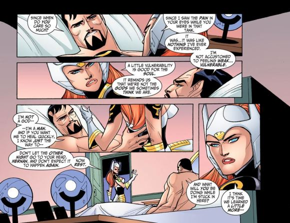 Justice League-Gods & Monsters No. 2-Humility & Learning Time!