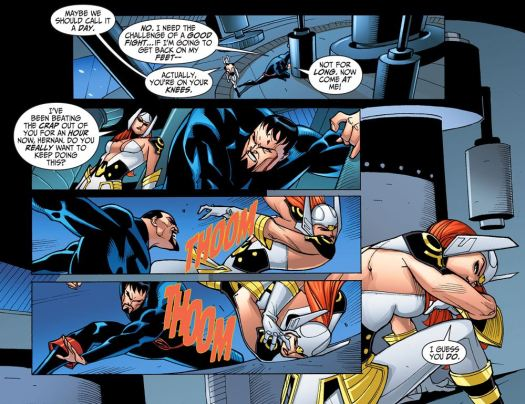 Justice League-Gods & Monsters No. 2-Shall We Punch!
