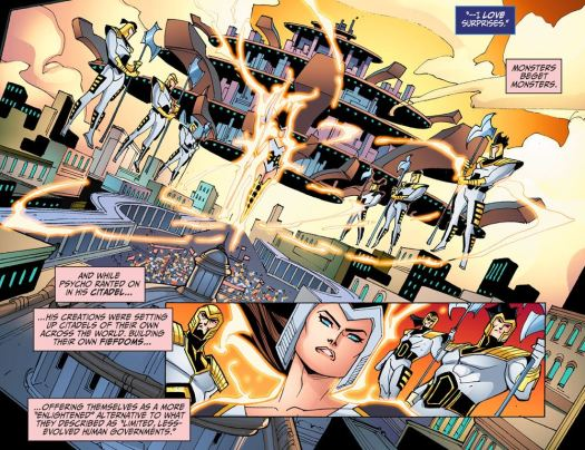 Justice League-Gods & Monsters No. 2-Spread The Word!