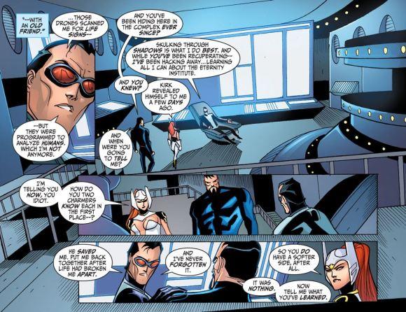 Justice League-Gods & Monsters No. 2-The Bat Is Hidden Among Friends!