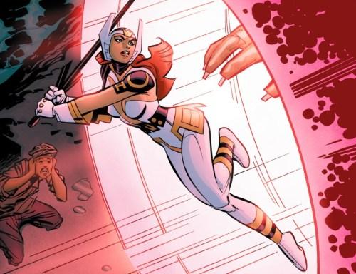 Wonder Woman No. 1-Hi, Becca!