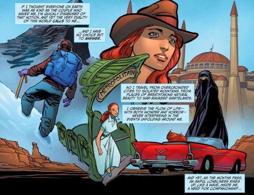 Wonder Woman No. 1-The Earthbound Travels Begin! (2)