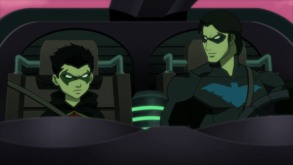 Nightwing-It's For Your Own Good, Damian!