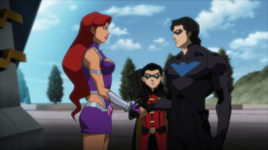 Nightwing-Long Time, No See, Kori!
