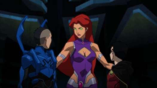 Starfire-There Will Be No Quarrels Between Us!