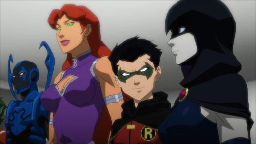 Teen Titans-Worthy Of The JL's Respect!