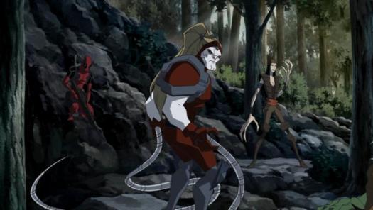 Deadpool, Omega Red & Lady Deathstrike-Got You!