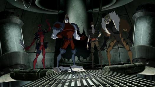 Team X-Strike A Pose!