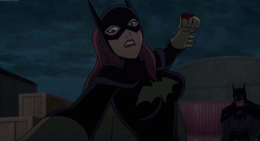 Batgirl-Over The Edge!