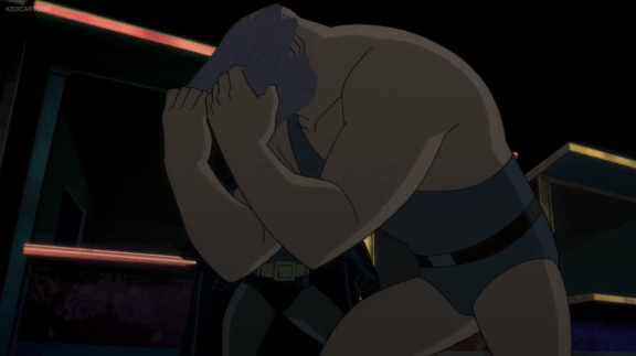 Batman-Strong Man Down!