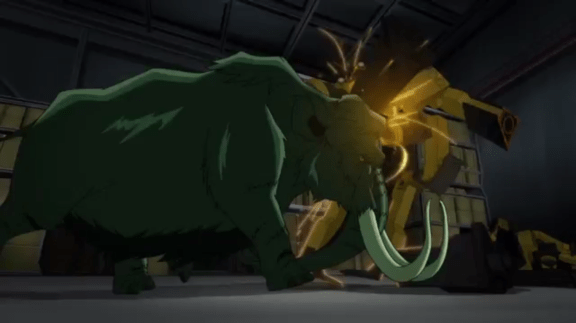 Beast Boy-Ramming Speed!