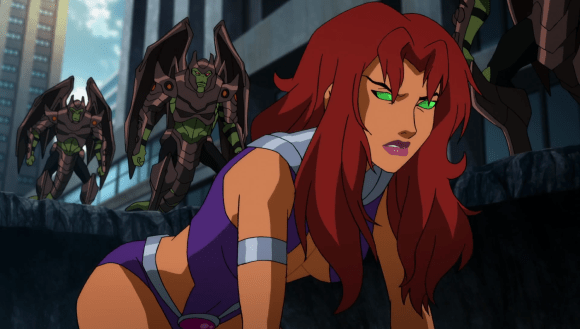 Starfire-Not The Earthly Introduction I Had In Mind!