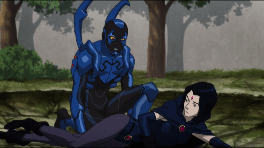 Blue Beetle-I Didn't Mean To Hurt You, Raven!