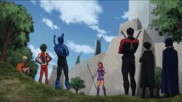 Teen Titans-Training Time!