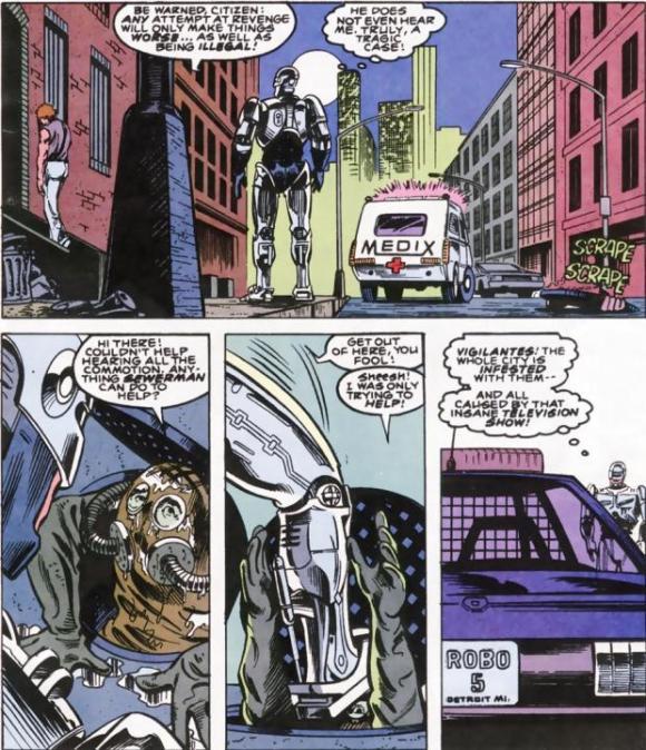 RoboCop #10-Outta My Way, Sewerman!