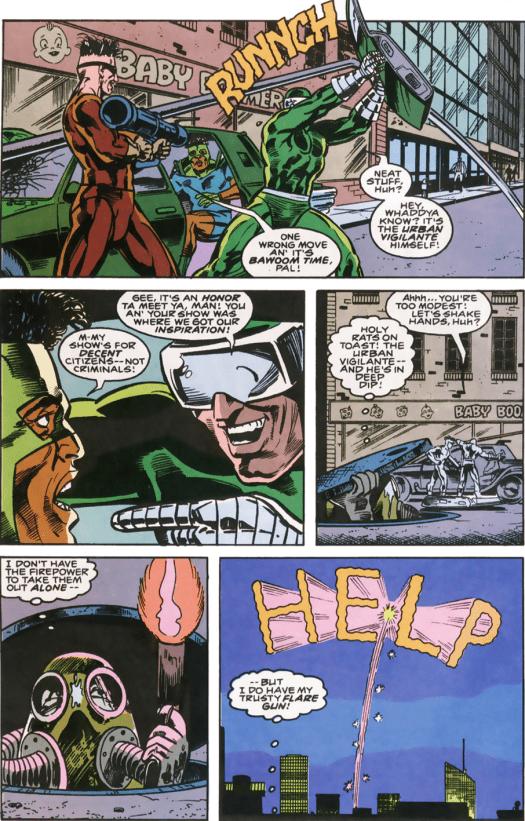 RoboCop #10-This Masked Crime Won't Go Un-Noticed!