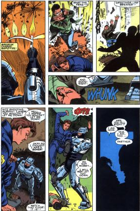 RoboCop #2-Lewis Is Saved!