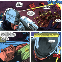 RoboCop #2-Shaken From Civilan Casualty!