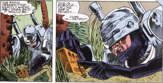 RoboCop #6-Gotta Stop My Personal Explosion!