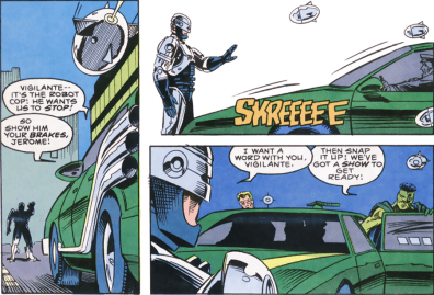 RoboCop #9-Stop In The Name Of My Law!