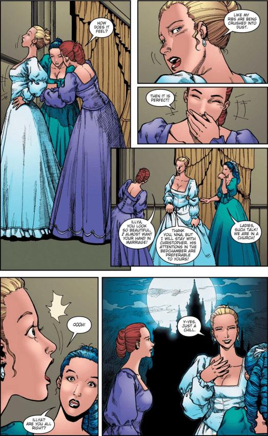 Castlevania-B.L. #1-The Bride Is Ready!