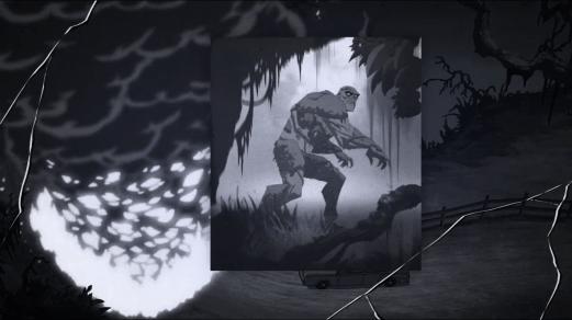 Batman-Exit Alec Holland, Enter Swamp Thing!