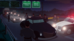 Gotham Police-No Way Are Those Green Felons Getting By Us!