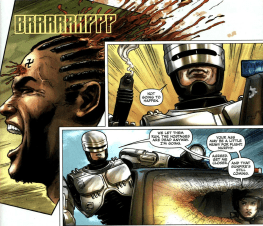 Dynamite's RoboCop #1-I'm Going In!