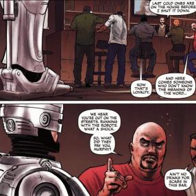 Dynamite's RoboCop #2-Visiting My Former Cohorts!
