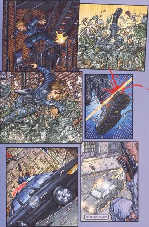 Frank Miller's RoboCop #4-Gotta Get Outta Here!