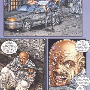 Frank Miller's RoboCop #4-Lewis On The Scene!
