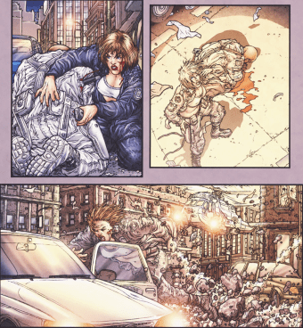 Frank Miller's RoboCop #5-On The Move Again!