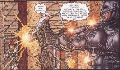 Frank Miller's RoboCop #6-I'll Be Protecting Old Detroit!