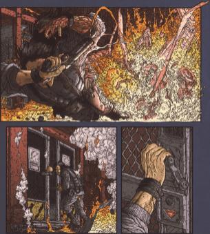Frank Miller's RoboCop #8-Gotta Get Away!