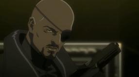 Nick Fury-Protect Stark!