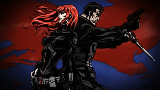 Black Widow & Punisher-Together To The End!