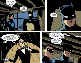 Batman & Harley Quinn #4-Servant's Singing Surprise!