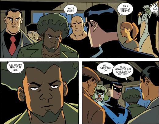 Batman & Harley Quinn #4-Shrubby's Cold Shoulder!