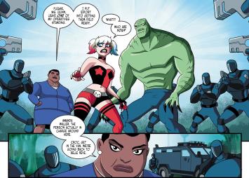 Batman & Harley Quinn #7-Nowhere Left To Go!