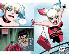 Batman & Harley Quinn #7-This Guardian Angel Wears Punk Gear!
