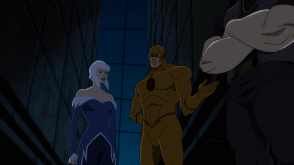 Reverse-Flash-Let's Begin, Ms. Frost!