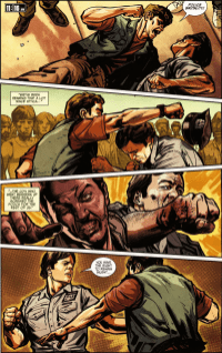 Die Hard-Year One #1-Fisticuffs Of Justice!