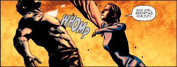 Suicide Squad #12-Clobbering Clay!