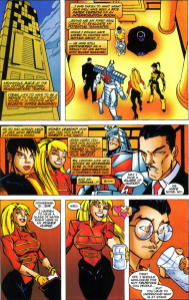 Sunfire & Big Hero Six #2-Super Interrogation!