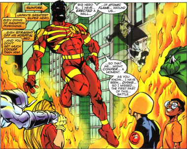 Sunfire & Big Hero Six #3-Final Flame Of Hope!