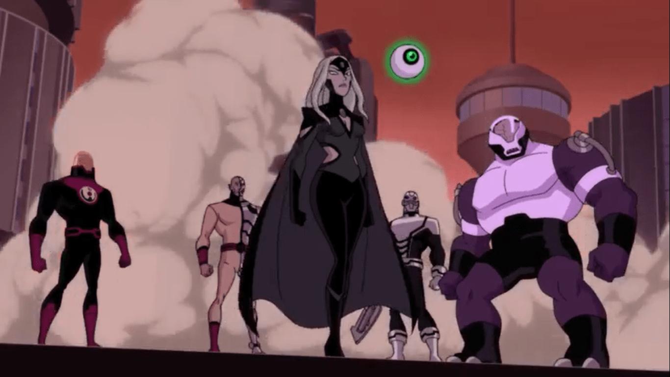 Dc Universe Animated Original Movies Part 34 Justice League Vs The Fatal Five Casual Comix Critique